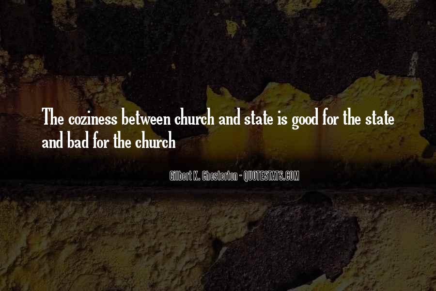 Quotes About The Church And State #175927