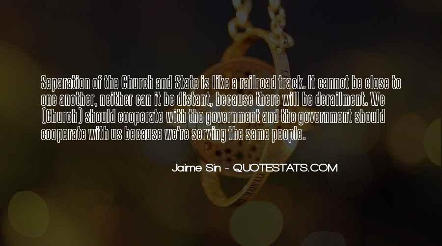 Quotes About The Church And State #318289
