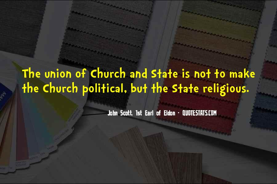 Quotes About The Church And State #342046