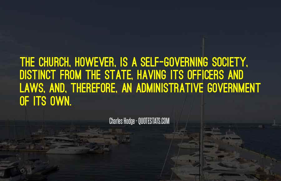 Quotes About The Church And State #504514