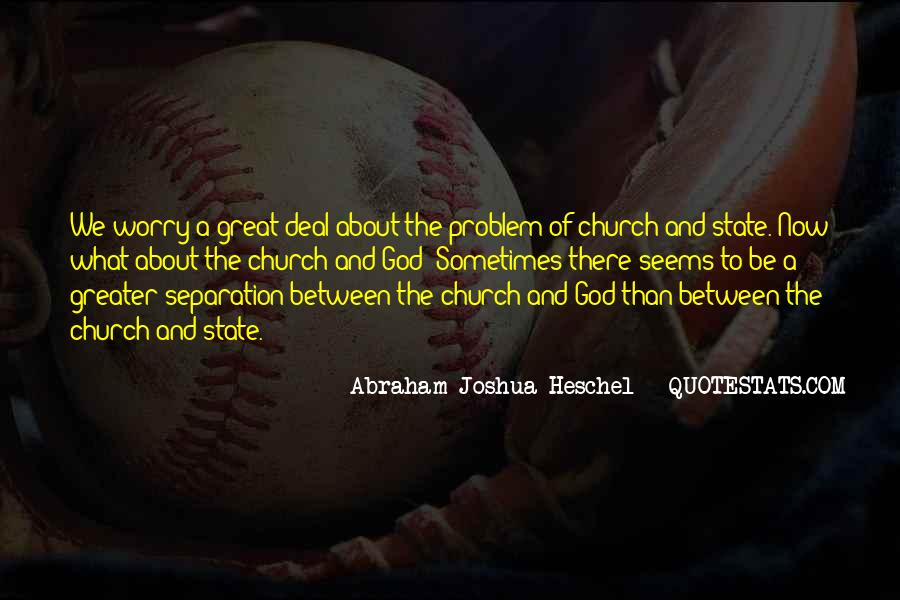Quotes About The Church And State #512648