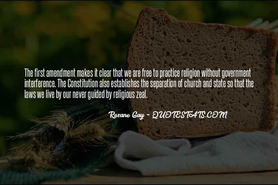 Quotes About The Church And State #526103