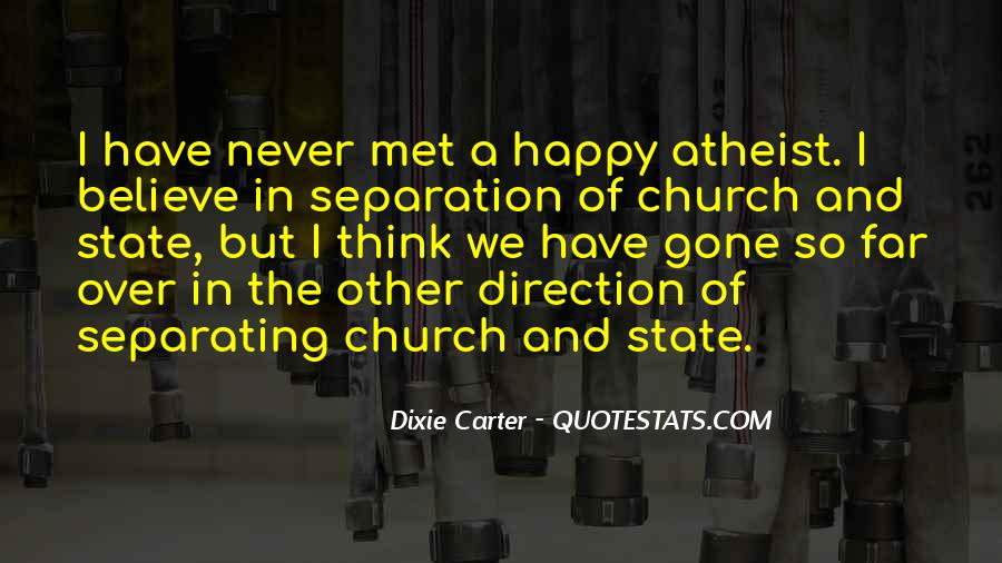 Quotes About The Church And State #583118
