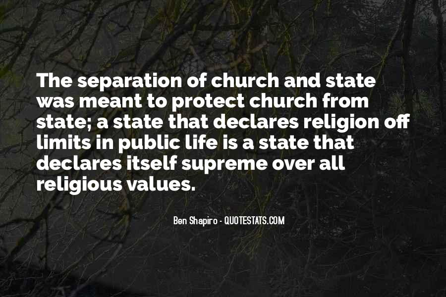 Quotes About The Church And State #646017