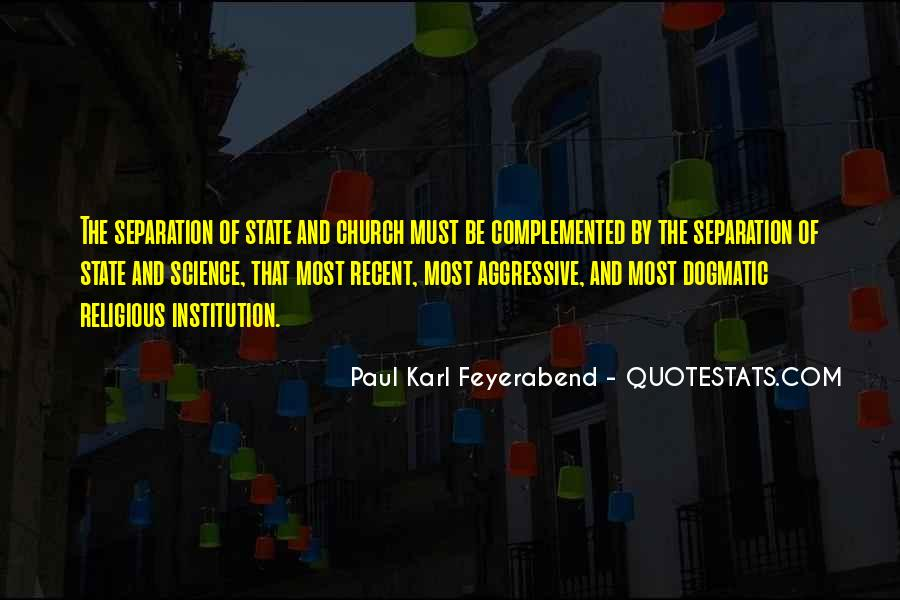 Quotes About The Church And State #658682