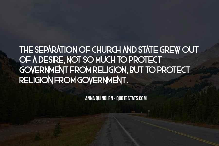 Quotes About The Church And State #671245