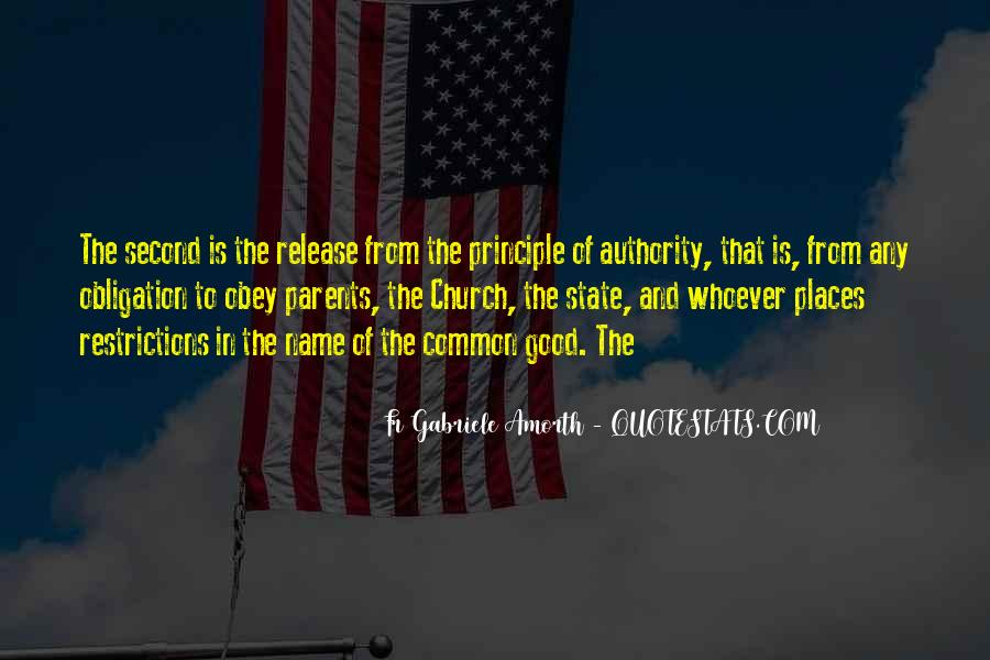 Quotes About The Church And State #697312