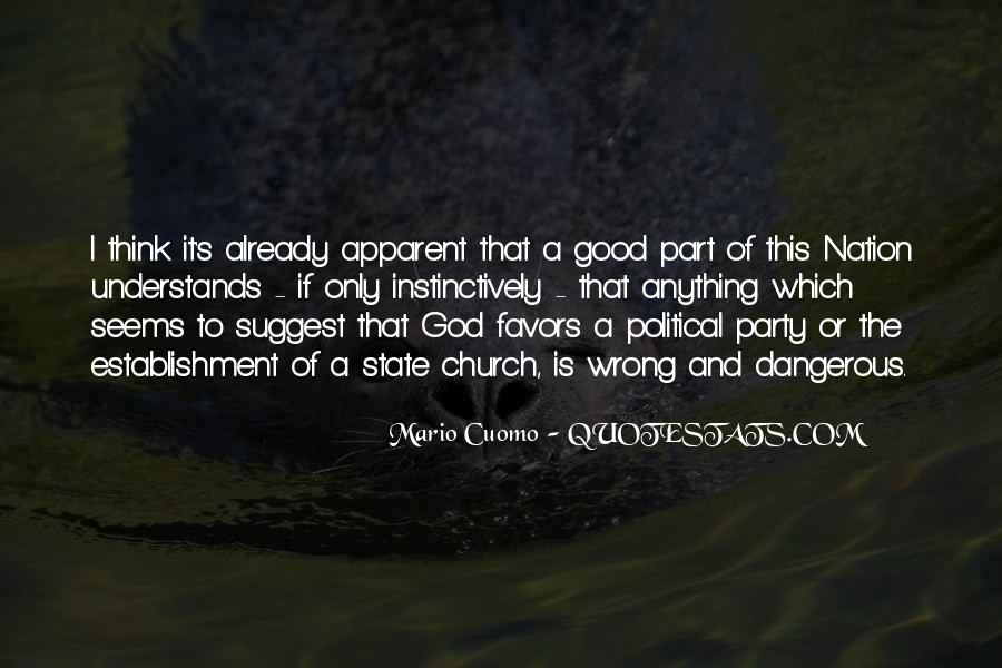 Quotes About The Church And State #775527