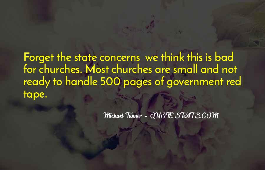 Quotes About The Church And State #853518