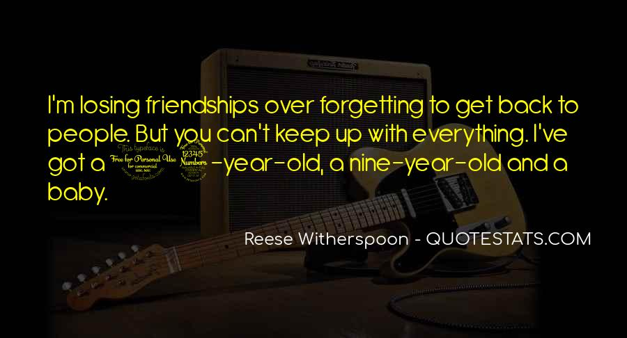 Quotes About Forgetting Everything #1458029