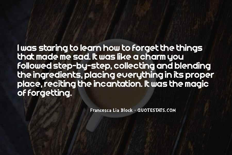 Quotes About Forgetting Everything #1500268
