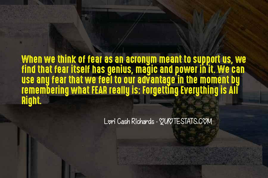 Quotes About Forgetting Everything #1538939