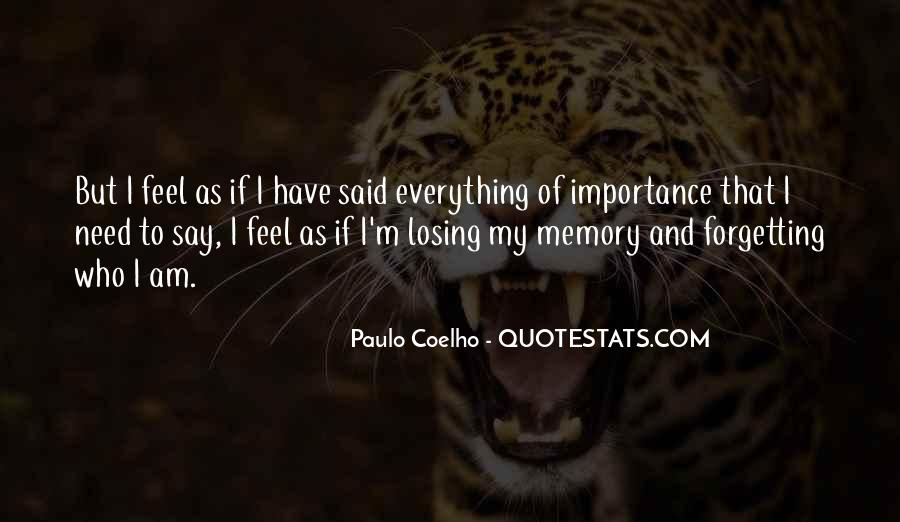 Quotes About Forgetting Everything #1691376