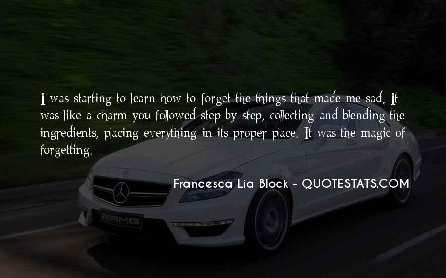 Quotes About Forgetting Everything #1732982