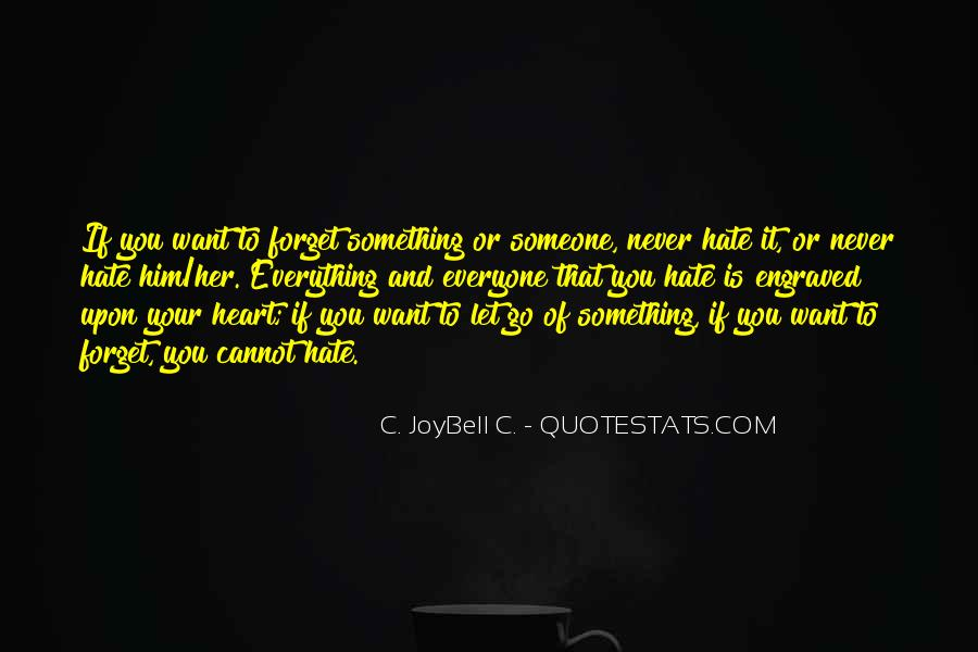 Quotes About Forgetting Everything #444155