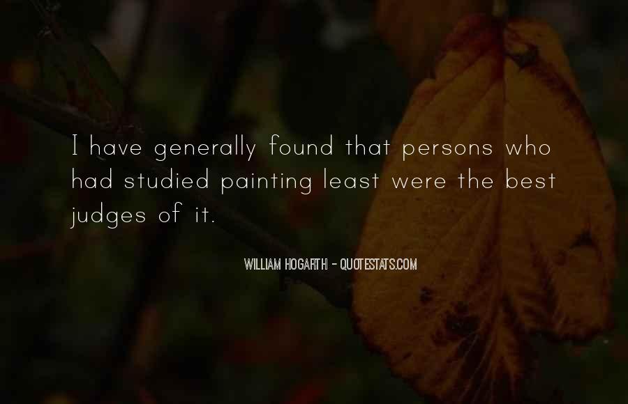 Hogarth Quotes #243448