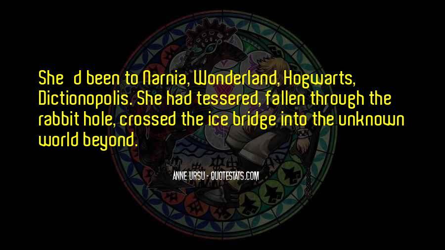 Hogwarts Bridge Quotes #1242031