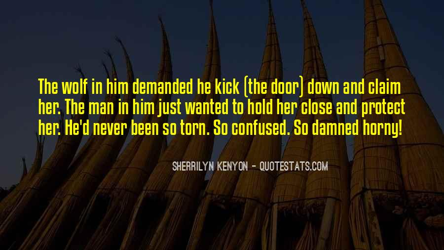 Hold Him Down Quotes #1161465