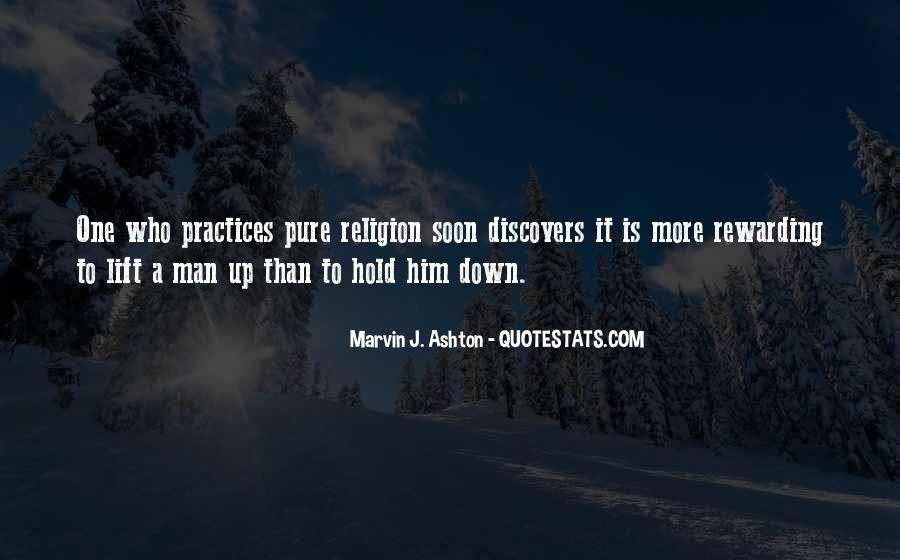 Hold Him Down Quotes #228536