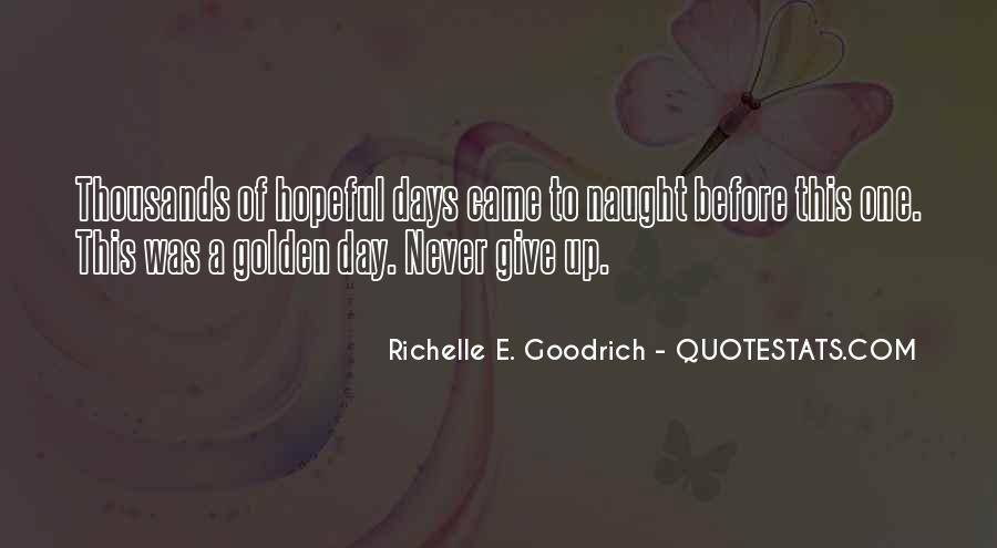 Hold On Never Give Up Quotes #156922