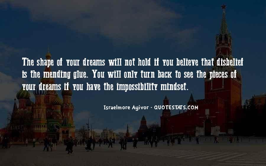 Hold Onto Dreams Quotes #143321