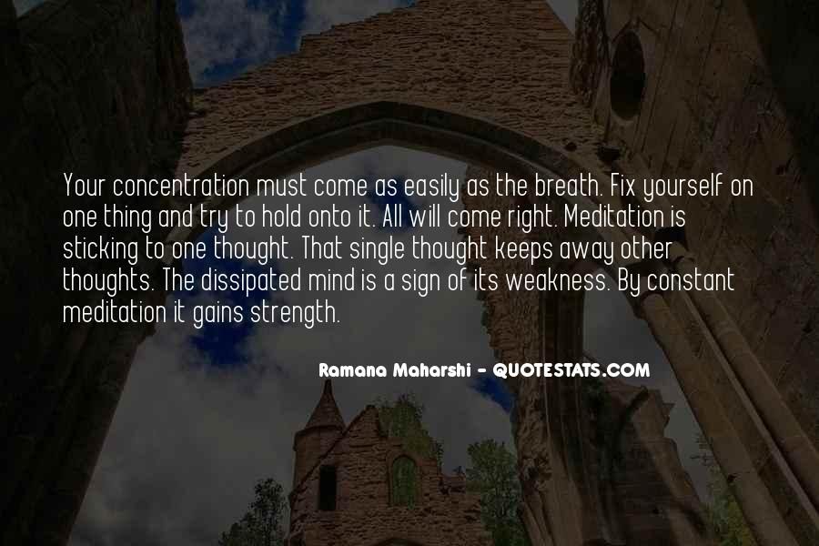 Hold Your Breath Quotes #1498601