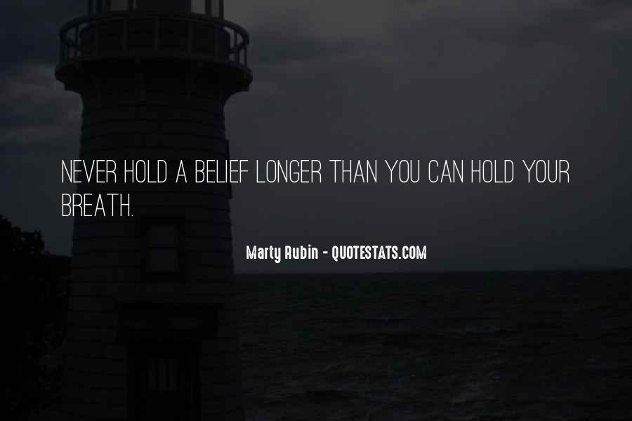Hold Your Breath Quotes #1681083