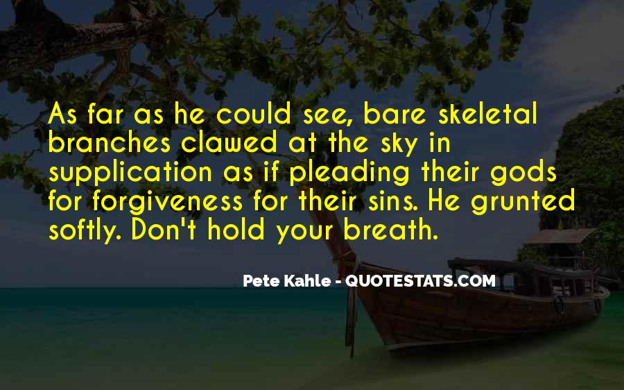 Hold Your Breath Quotes #736546