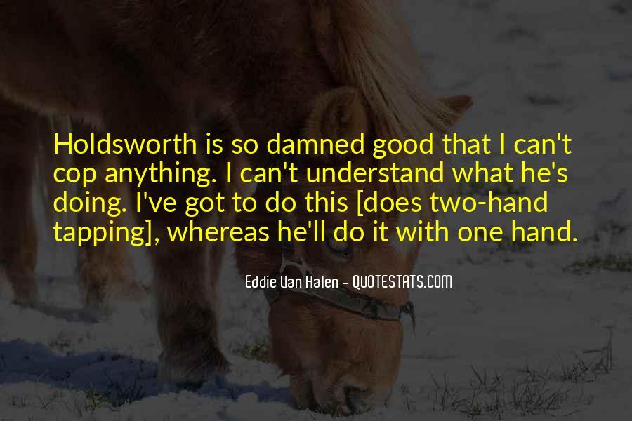 Holdsworth Quotes #936465