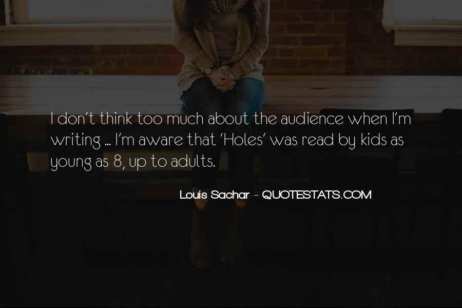 Holes Sachar Quotes #1365779