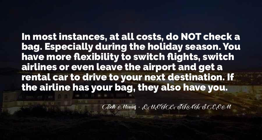 Holiday Check In Quotes #174623