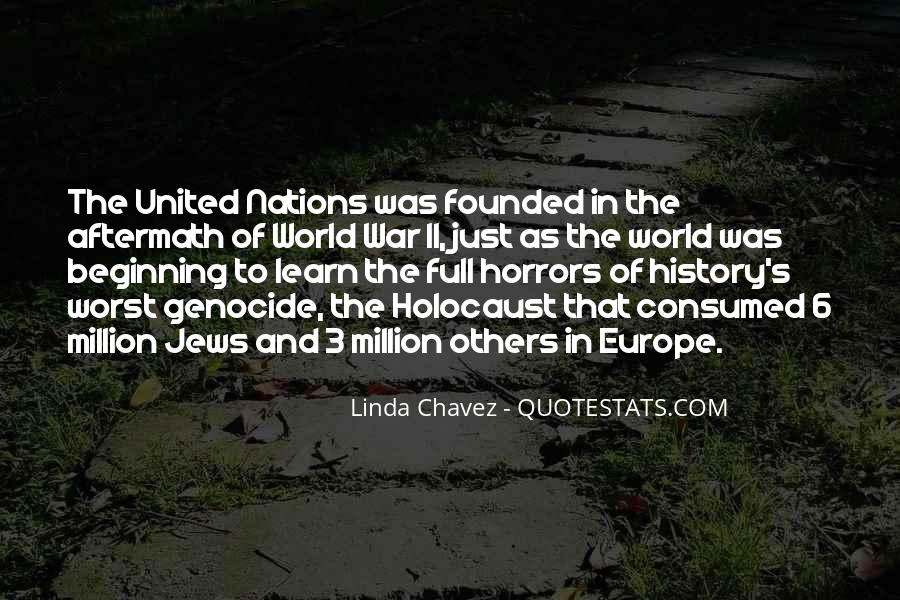 Holocaust Aftermath Quotes #374108