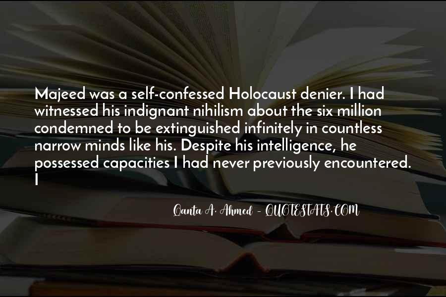 Holocaust Denier Quotes #798967