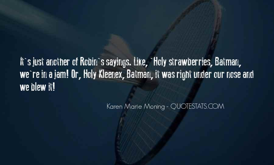 Holy Cow Batman Quotes #1813155