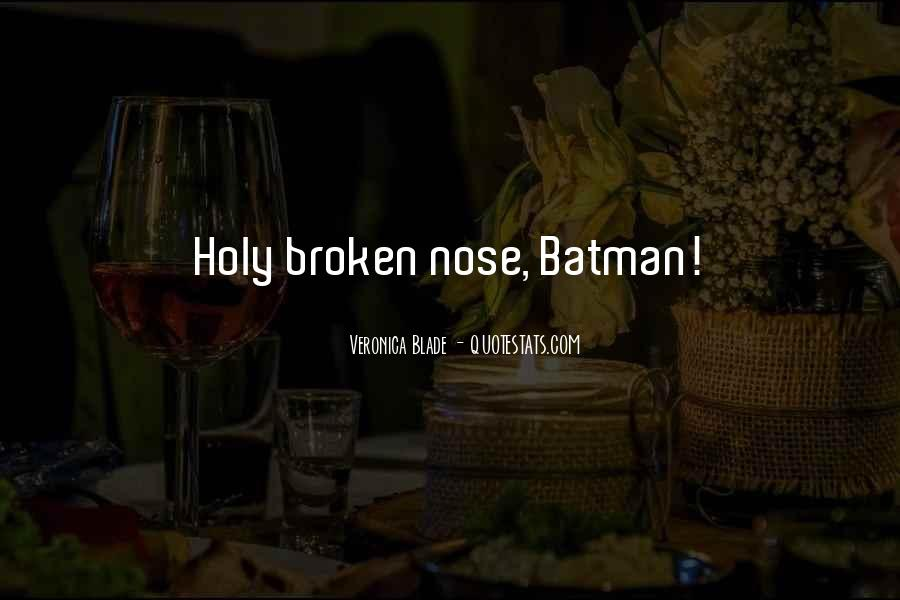 Holy Cow Batman Quotes #232301