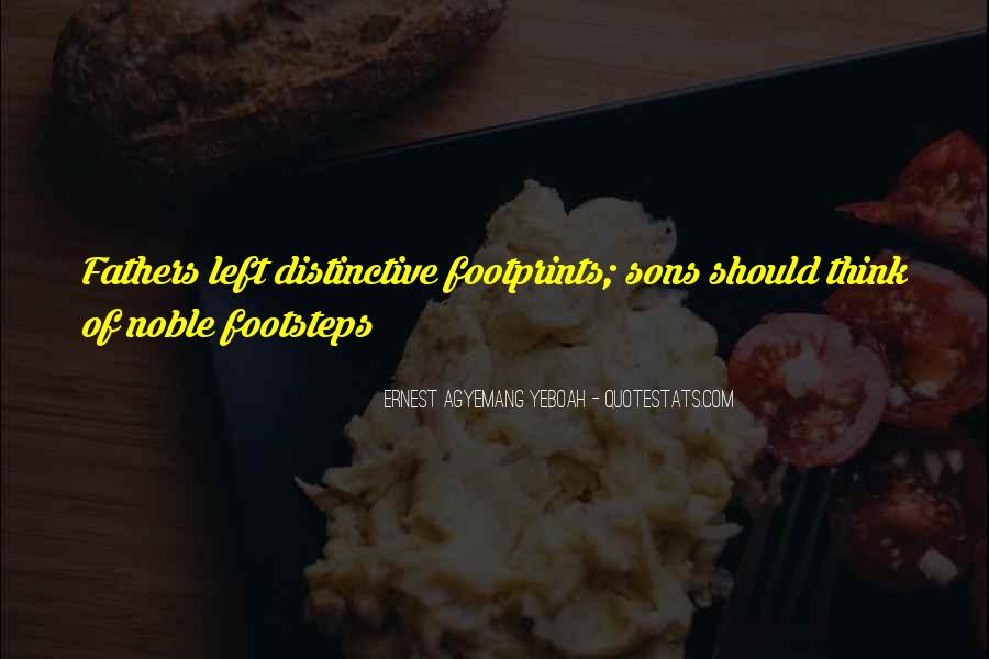 Quotes About Footprints In Life #1180857
