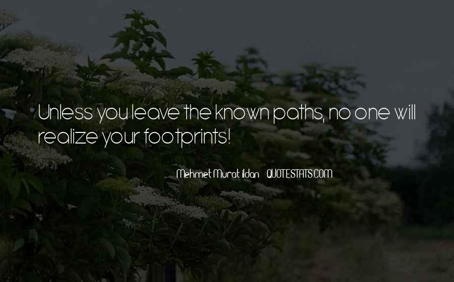 Quotes About Footprints In Life #1765732