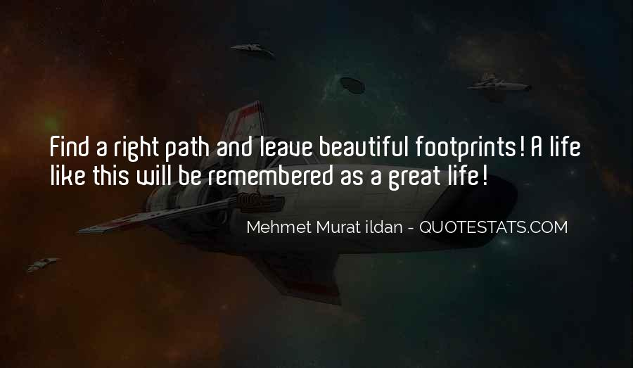 Quotes About Footprints In Life #1797798