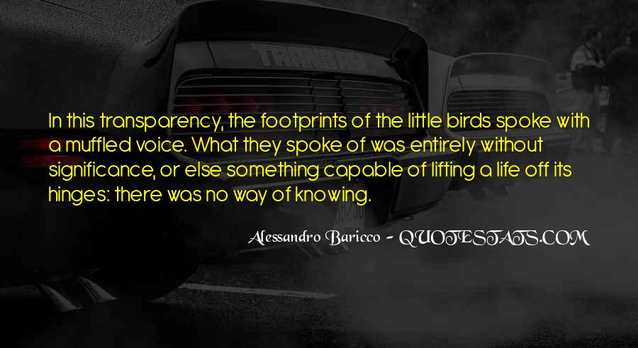 Quotes About Footprints In Life #1832171