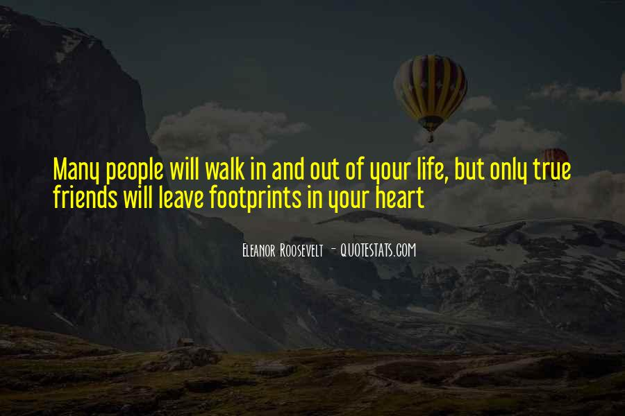 Quotes About Footprints In Life #196597