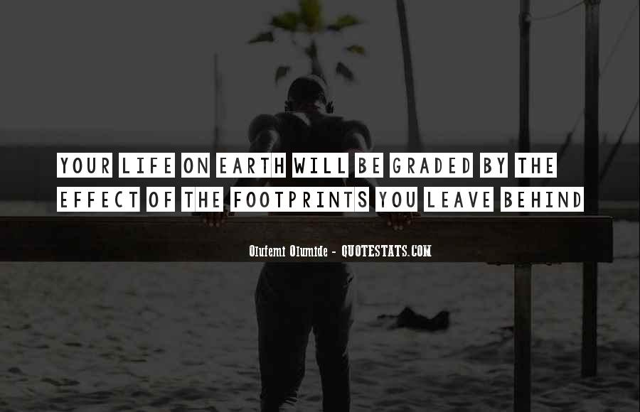 Quotes About Footprints In Life #50676