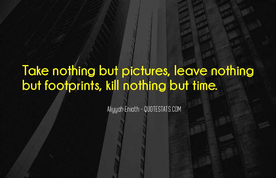 Quotes About Footprints In Life #705735