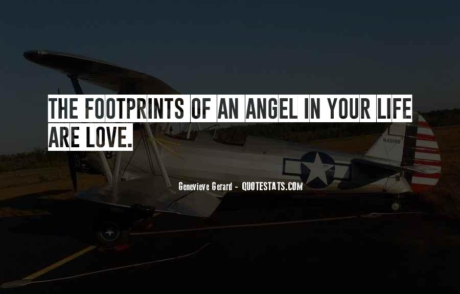 Quotes About Footprints In Life #888664