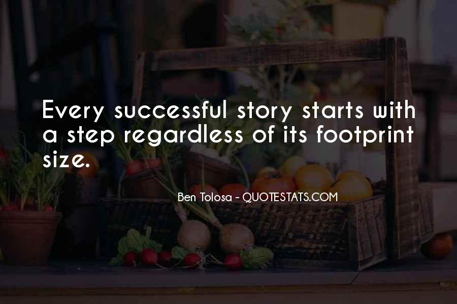 Quotes About Footprint #1111580