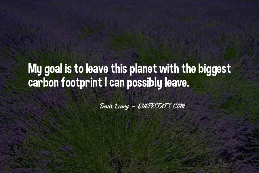 Quotes About Footprint #1256598