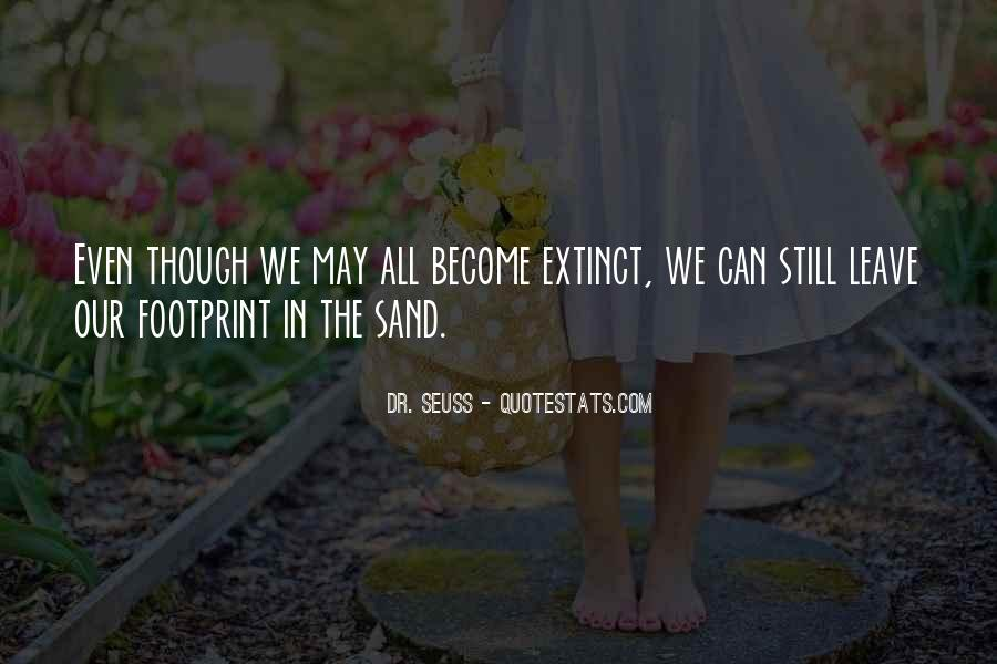 Quotes About Footprint #14352