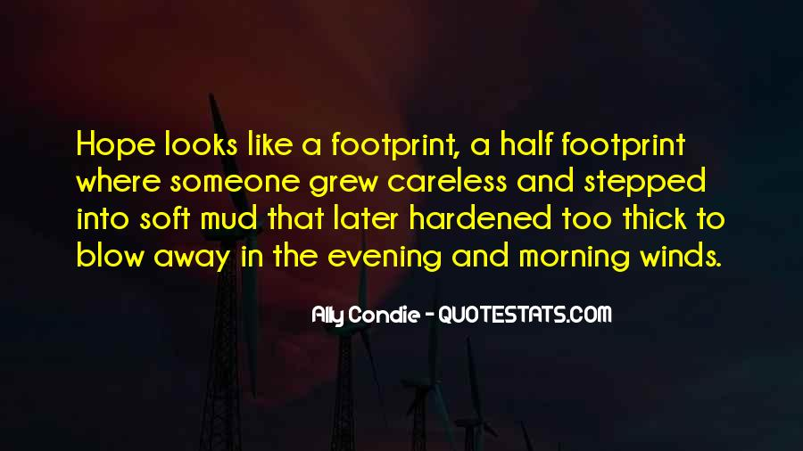 Quotes About Footprint #31173
