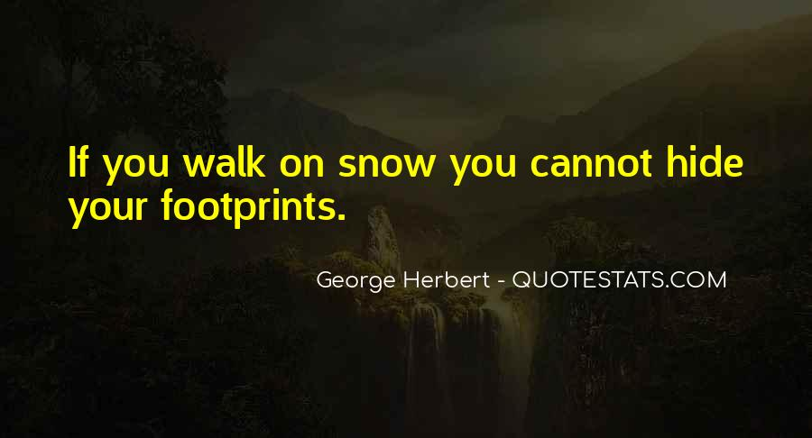 Quotes About Footprint #641983