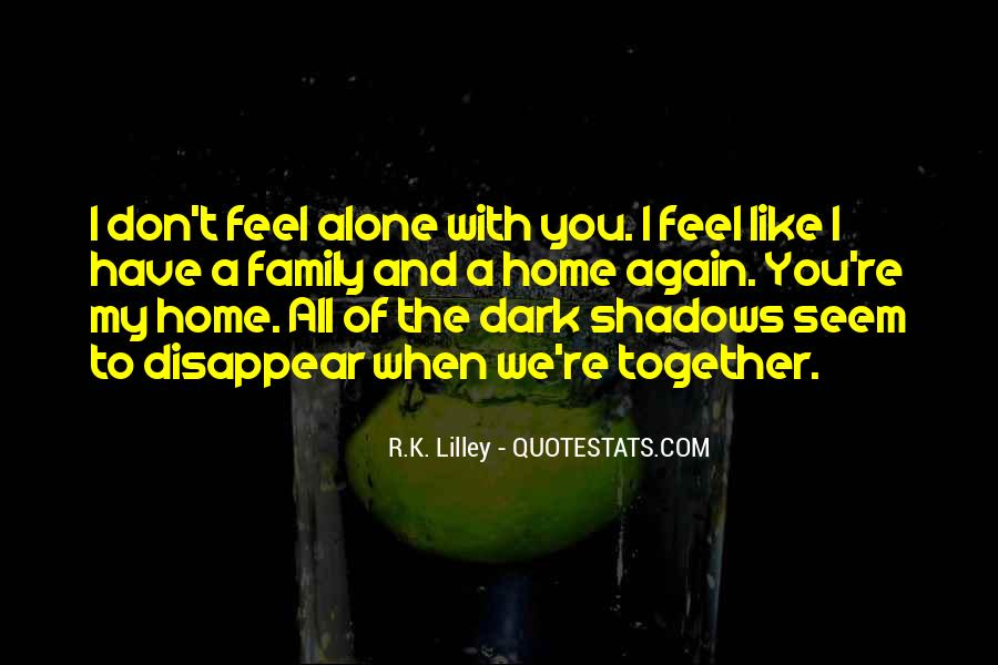 Home Alone Love Quotes #27593