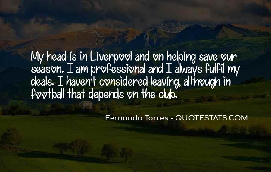 Quotes About Football Club #1325047